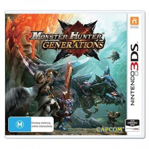 Monster Hunter Generations 3DS Game (australian Stock) | http://gamesactions.com shares #new #latest #videogames #games for #pc #psp #ps3 #wii #xbox #nintendo #3ds
