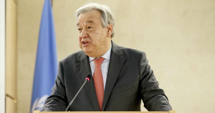 "Disdain for Human Rights ""A Disease That's Spreading,"" Warns UN Chief    Warning comes as Trump administration reportedly considers pulling out of UN Human Rights Council"