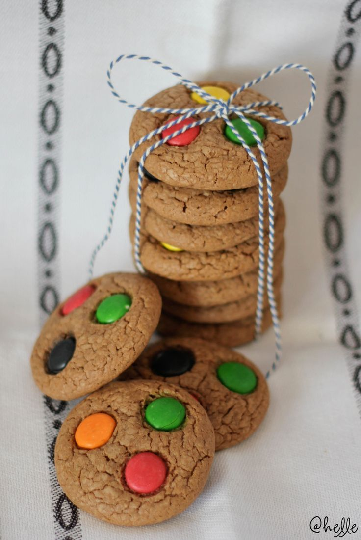 made by Helle: American cookies med non stop