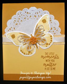 ~ ~ ~Jayne Stamps ~ ~ ~: Watercolor Wings and Half Circle Pop-Up Card: