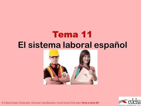El sistema laboral español>