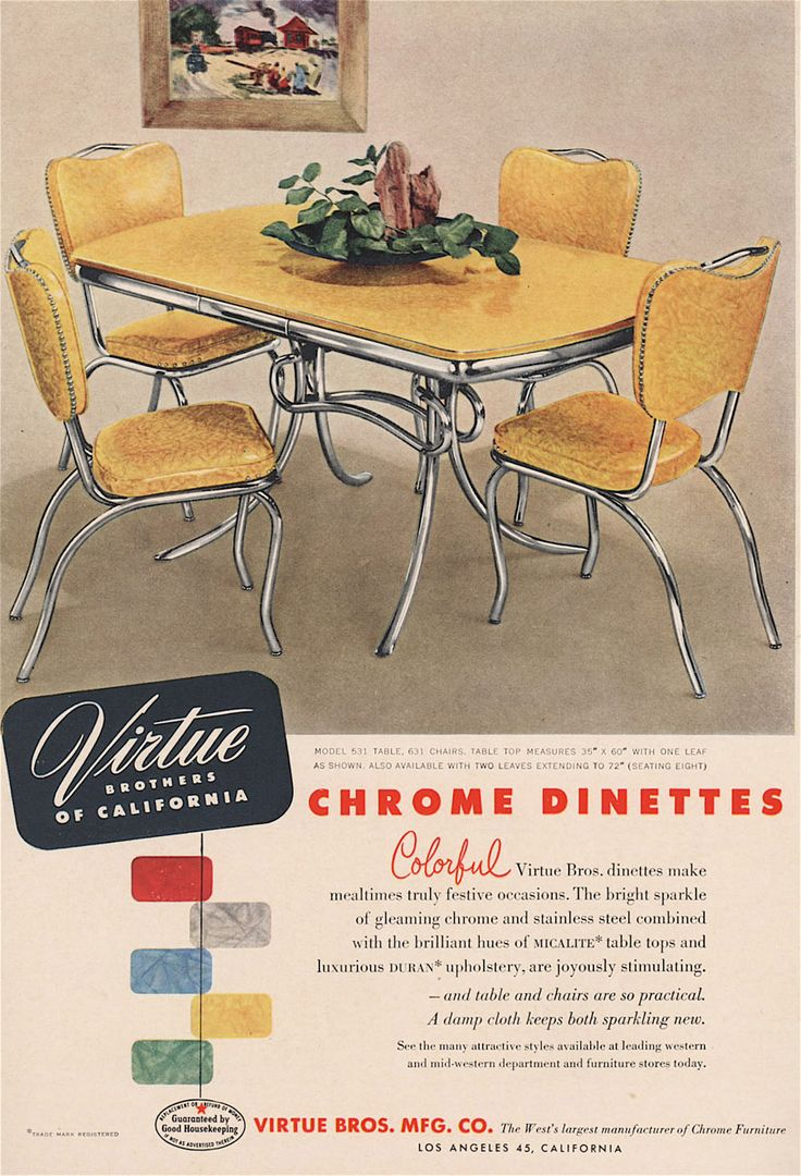 Chrome Dinette                                                                                                                                                                                 More
