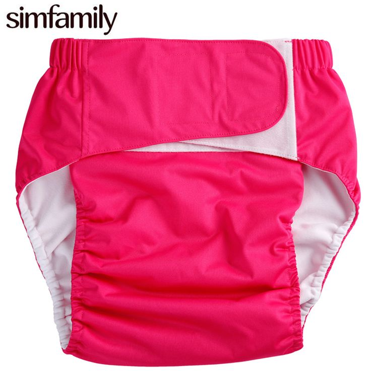 [simfamily]1 Pc Adult Cloth Diaper, Incontinence Pants, Working with Disposable Pad,wholesale Selling for Kids Children Diaper
