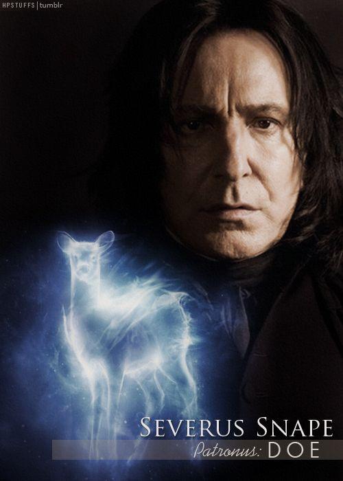 Snape's patronus: doe