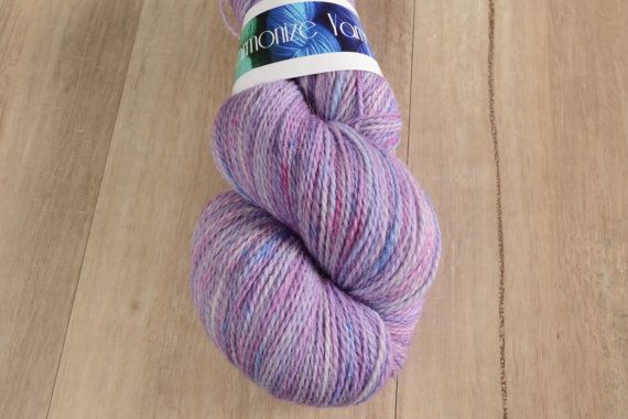 Unicorn Fluff  Fingering Weight Yarn Merino/Alpaca/Nylon