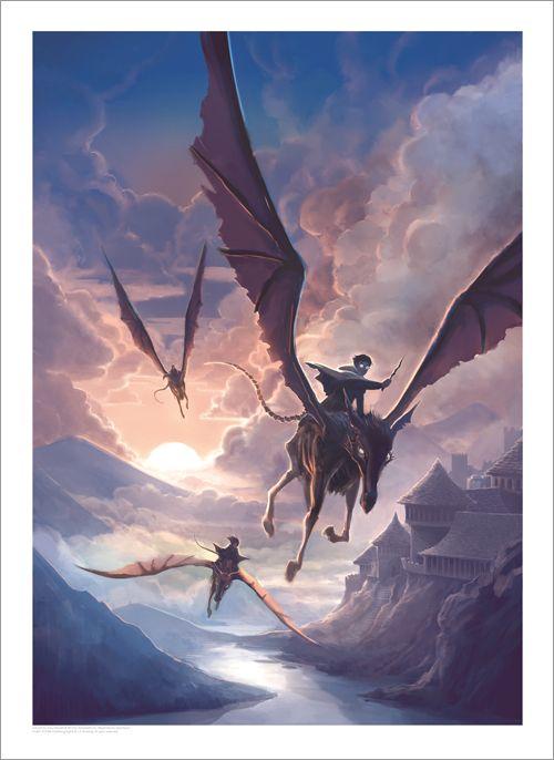 [Arte e Design] Arte das Capas Originais dos 7 Livros da Série Harry Potter | PopHD - Harry Potter and The Order of The Phoenix >> veja mais em www.pophd.com.br