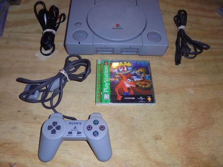 Sony PlayStation 1 PS1 Original Console Bundle game crash bandicoot 2