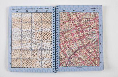 Jorge Macchi - Guía De La Inmovilidad, 2003 Buenos Aires street guide. 20 x 30…