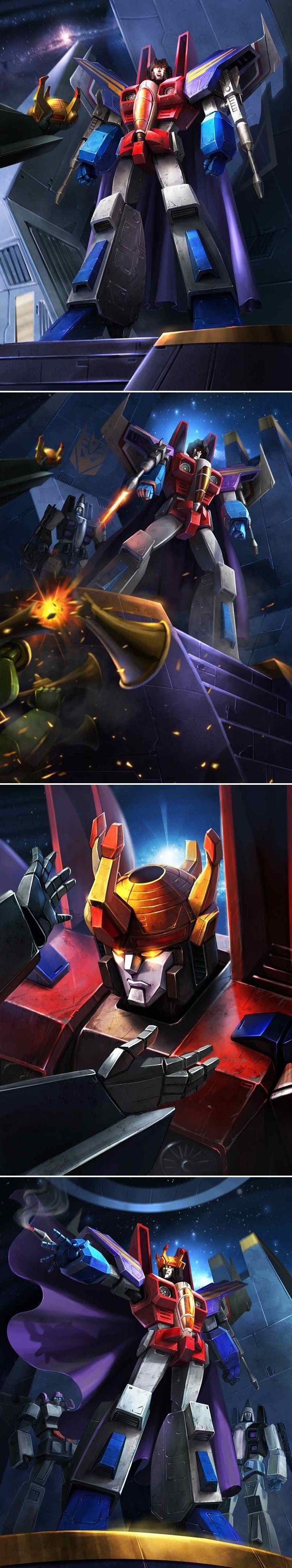 Transformers - Legends - The Coronation of Starscream by manbu1977 on deviantART