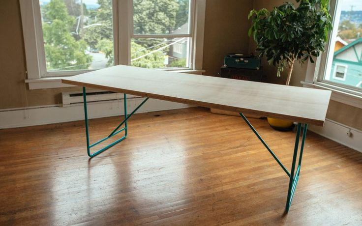 Mid Century Dining Table Diy Mid  Century Modern Dining Room Table   Diy Home Improvement