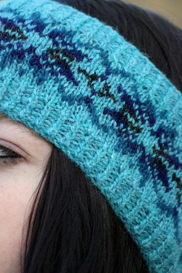 Hazel Tindall: Benon knitting pattern, free download