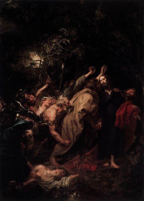 H σύλληψη του Χριστού ή το φιλί του Ιούδα  (1618-20)