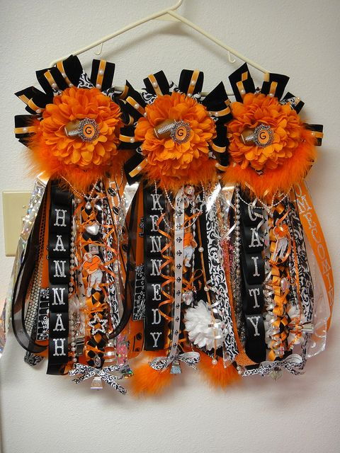 Homecoming Mums 2011 by cynthsmthrmn, via Flickr