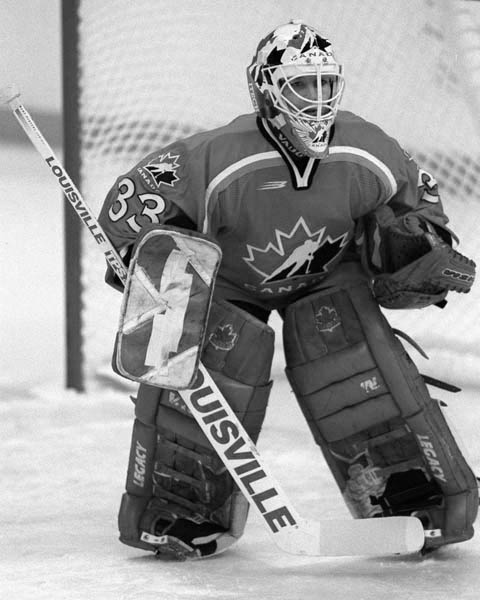 Manon Rhéaume is a Canadian Ice Hockey Goaltender. An Olympic silver medalist in 1998, she achieved a number of historic firsts during her career, including becoming the first and only woman ever to play in a National Hockey League exhibition game. In 1992 she signed a contract with Tampa Bay Lightning, appearing in preseason exhibition games and spent 5 years in professional minor leagues, a total of 7 teams, appearing in 24 games. She also played on the Canada Women's National Ice Hockey…