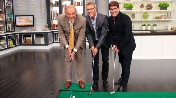 Dragons' Den's Jim Treliving shares his secrets for success -- and golf. http://www.cbc.ca/stevenandchris/2012/09/jim-treliving.html