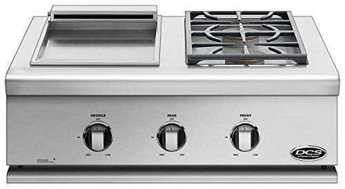 DCS BFGC30BGDN Liberty BuiltIn Double Side Burner and Griddle  Natural Gas -- See this great product.(This is an Amazon affiliate link and I receive a commission for the sales)