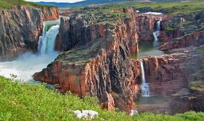 Wilberforce Falls nunavut: 10. Kakabeka Falls, Ontario -Kakabeka is the largest waterfalls in Northern Ontario, and is protected by a lovely provincial park. Offers great lookouts,