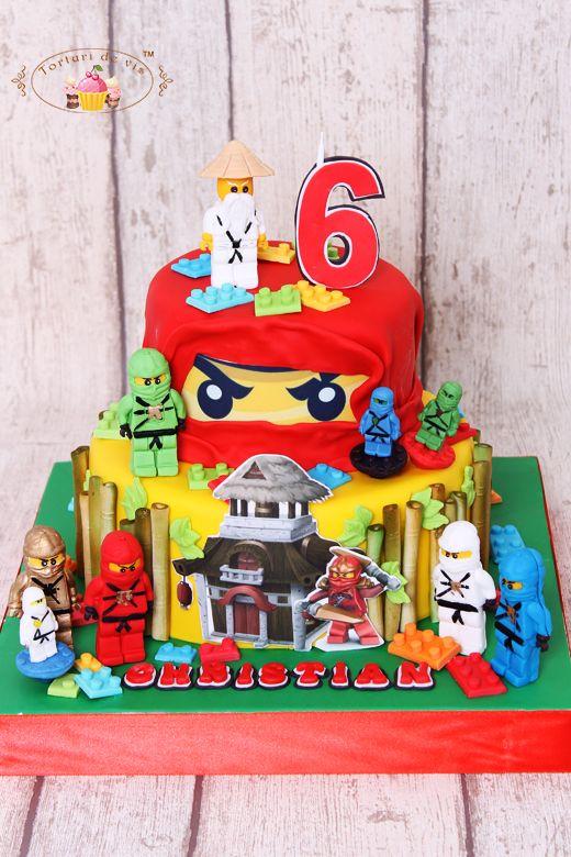 Torturi de vis: Tort Lego Ninjago pentru Christian