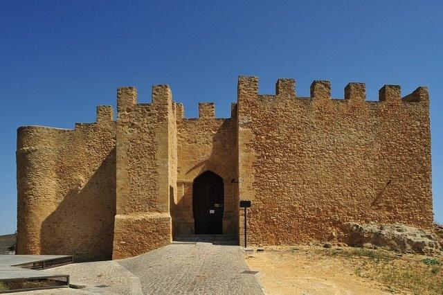 Il Castello Chiaramontano di Naro risale all'epoca medioevale ad opera principale della famiglia Chiaramonte. (Agrigento, Sicilia, Italia) - 37°17′41″N 13°47′40″E