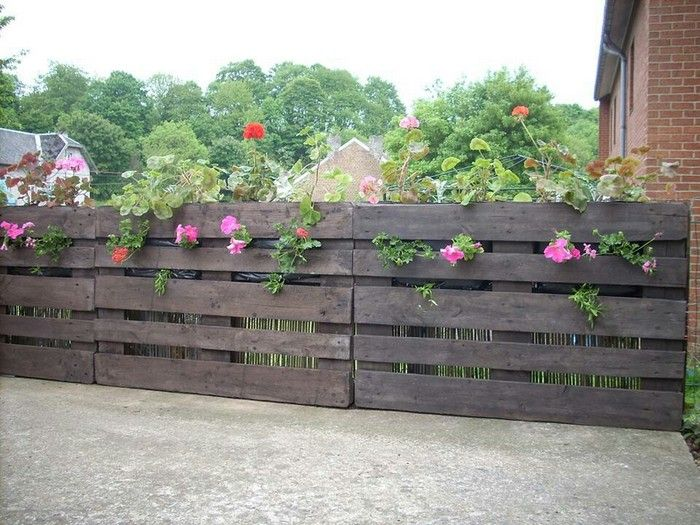 Wooden Pallet Fence Plans   Pallet Wood Projects