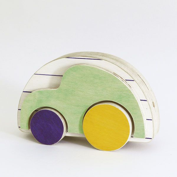 The little modular toy car - Kids toy by The Wandering Workshop