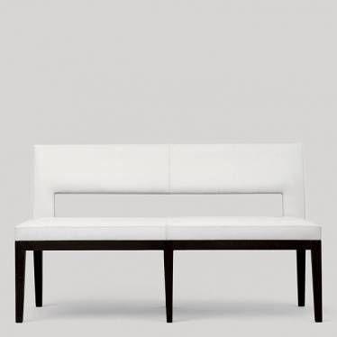 Christian Liaigre Velin Bench...white