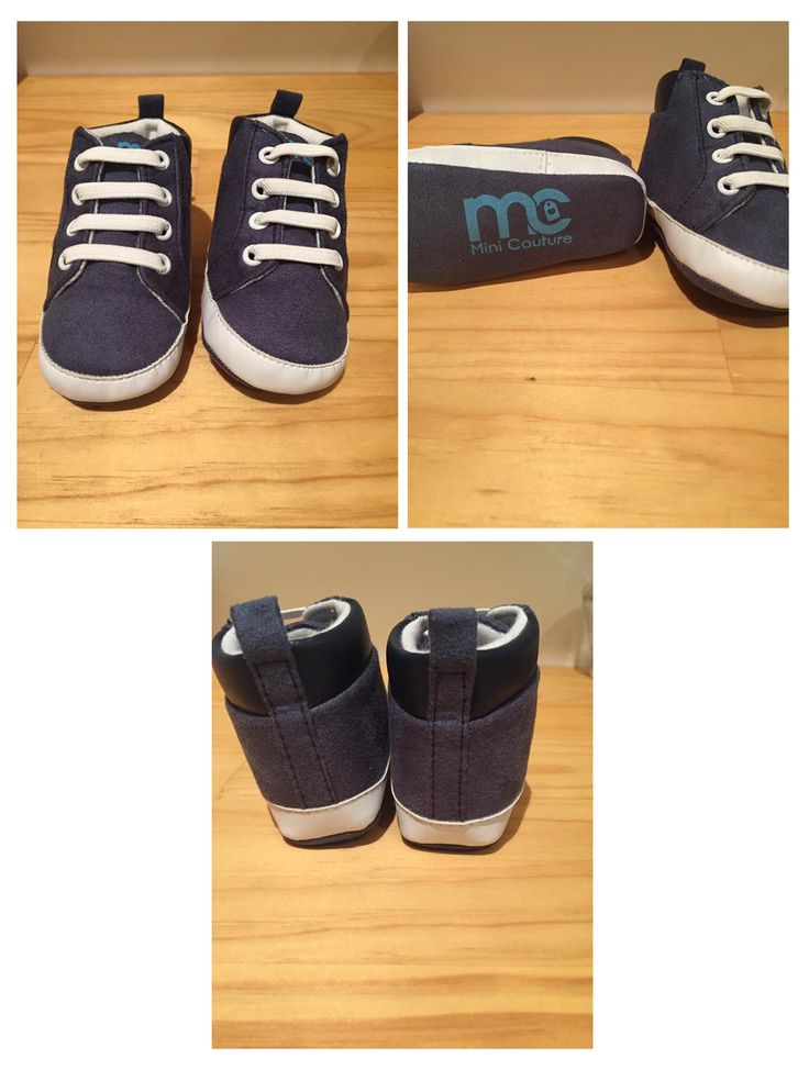 Mini Couture - Baby suede high top booties