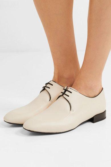 cb36f04e2b9c 3.1 PHILLIP LIM Louie Leather Dress Shoes in Vanilla