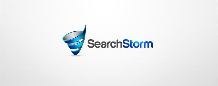 logo design for serach storm