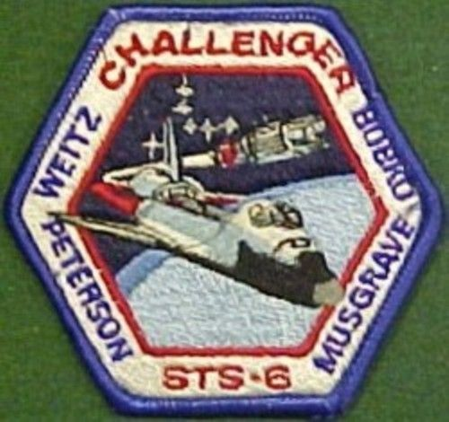 mission space patch 1984 - photo #25