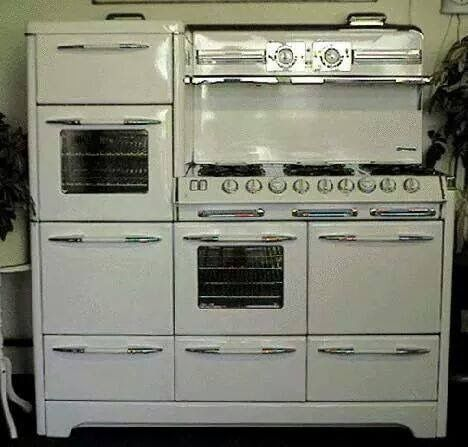 Oh, I like this!  Not for a vintage kitchen, but for MEGA baking & cooking!