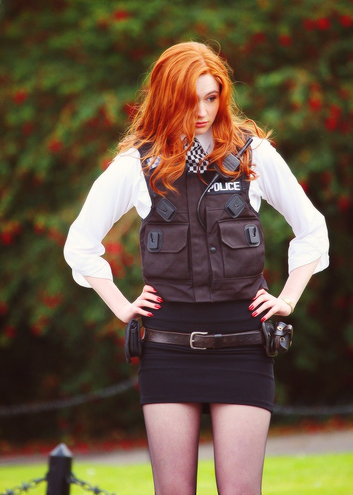 Amy Pond - Karen Gillan - Dr Who 2008 - 2013