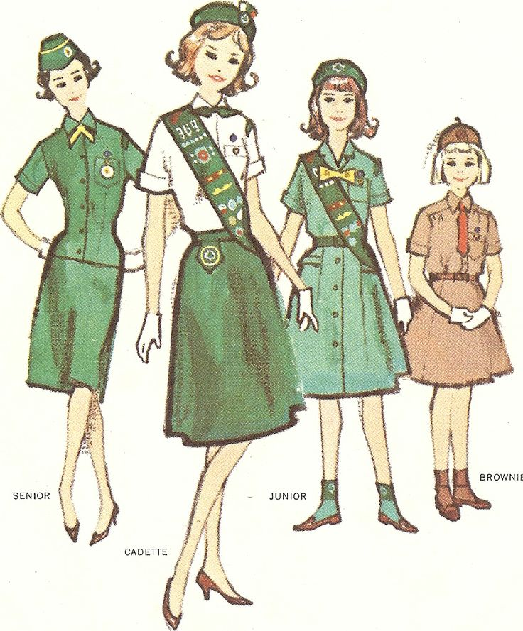 These were the actual uniforms we wore!