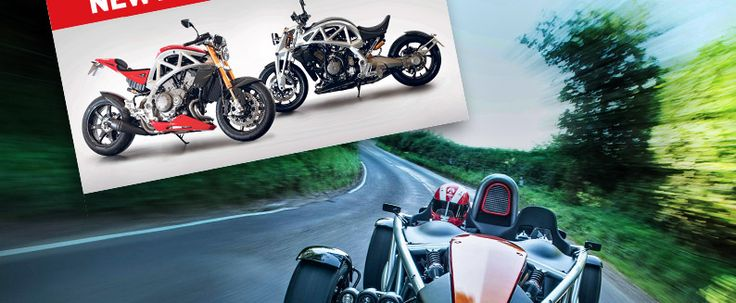Ariel Motor Company:  Ariel Ace: The massively configurable motorcycle platform