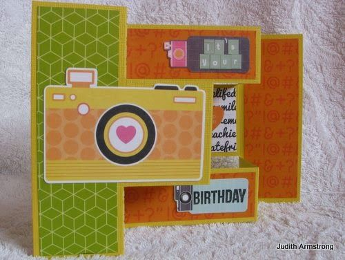 Created by Judith Armstrong using Kaisercraft Happy Snaps