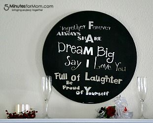 Happy back-to-school, y'all! It's Danielle again from Busy Mom's Helper, and I have got an amazing craft project to share with you today.     You'll love how fun and stylish this Painted Mirror Quote is, plus
