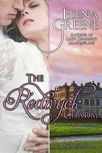 THE REDWYCK CHARM ~ Marcus Redwyck, Earl of Amberley, reluctantly agrees to wed an heiress in order to save his estate. But his equally reluctant bride, Juliana Hutton, runs away and masquerades as an opera dancer.  When they meet, passion leads them to the edge of scandal.  Even when all is revealed, it will take all of Marcus's resolution and the fabled Redwyck charm to win the spirited Juliana's heart.