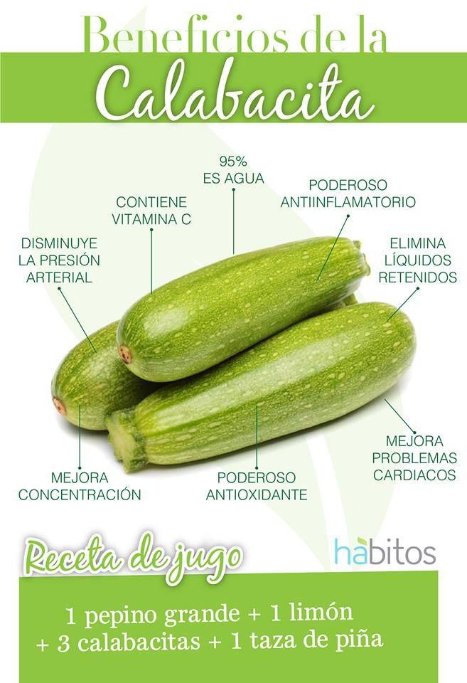 BENEFICIOS DE LA CALABACITA