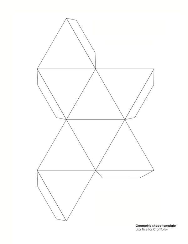 25 best ideas about polyhedron diy on pinterest paper ornaments