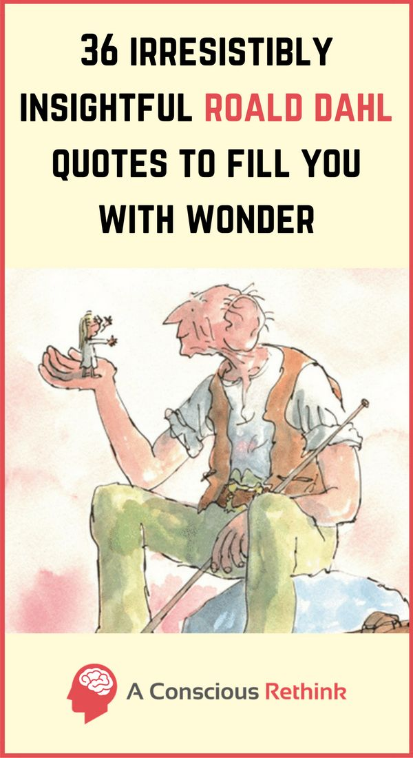 Roald Dahl quotes: The genius that was Roald Dahl has given us so much to learn from. Check out some of the more thought-provoking quotes from his books by clicking here now.