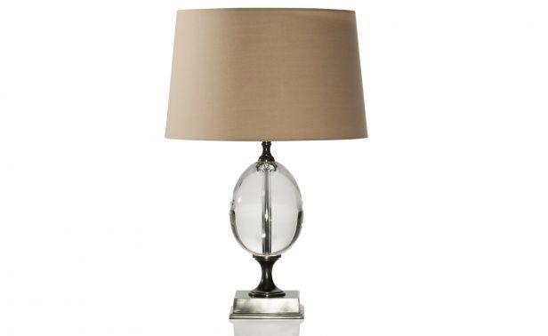 Coco Republic Bronze Egg Lamp
