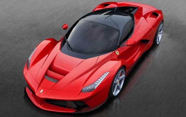 The new Ferrari... LeFerrari. I wish I were kidding, but that's its name. 963hp, and 499 will be built.