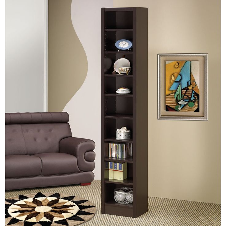 Coaster Furniture Slim Bookcase | from hayneedle.com
