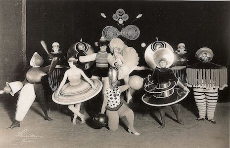 Bauhaus costume party, 1920s