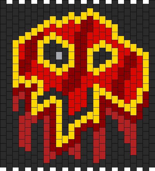 World Of Warcraft Shaman Symbol  Bead Pattern
