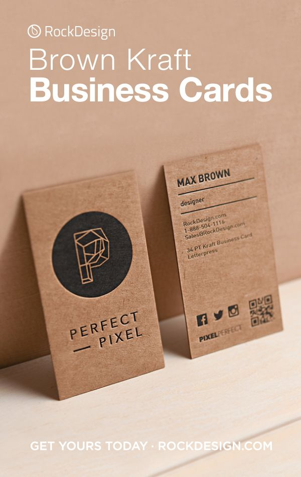 Brown Kraft Business Cards Kraft Business Cards Graphic Design Business Card Brown Kraft Business Cards