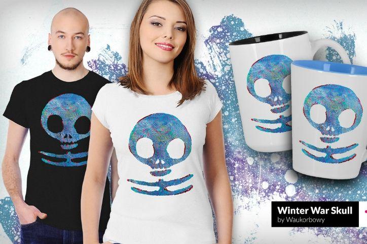 Blog Winter Wars Skull Grafiki | Teequilla | Teequilla