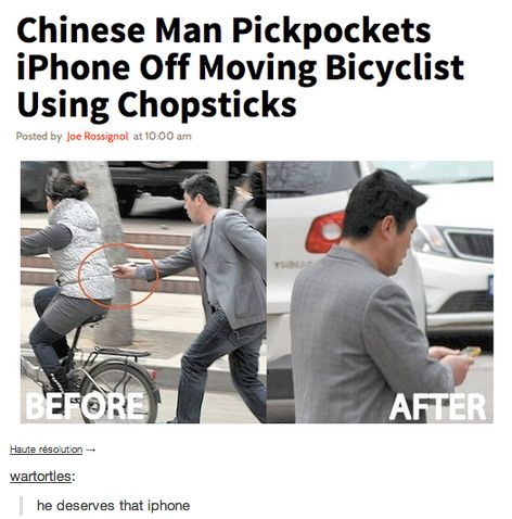 Theft Level: Asian