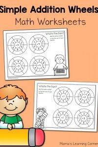 n Puzzle Cards   Fruit and Vegetable Worksheets for Kindergarten and First Grade   Simple Multiplication Wheels: Math Worksheets   Spring Picture Bar Graph Worksheets