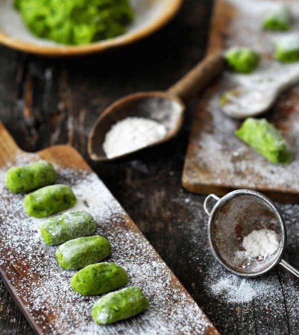 Recipe: Wild garlic gnocchi with tomato ragout   The Simple Things